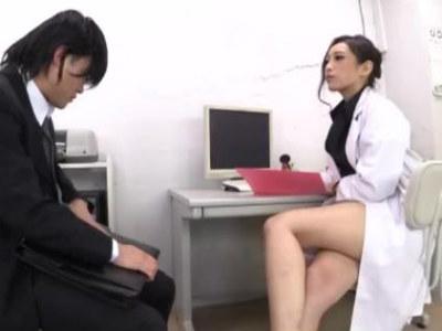 包茎の診察に来た男性患者を弄ぶ美人女医の性癖 神納花