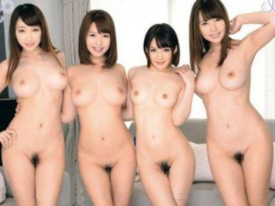 上京した田舎の青年が住み始めたシェアハウスの住人がいつも全裸な痴女たちだった 波多野結衣 尾上若葉 蓮実クレア 麻里梨夏
