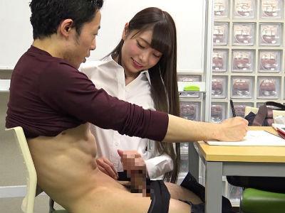 真面目に絵を書こうとしてる生徒の乳首を触り手コキフェラで射精させる人気イラスト女性講師 白百合ましろ