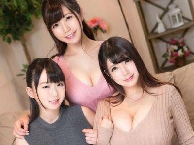 3人の巨乳お姉さんがボクを誘惑して迫ってくるハーレム痴女VR動画 優月まりな 羽月希 美泉咲