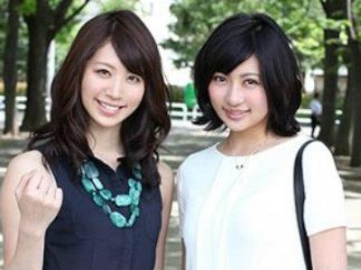 大学の先輩と後輩だというモデル並みにハイクラスな人妻たちと逆3P 宮瀬リコ 仁科紀子