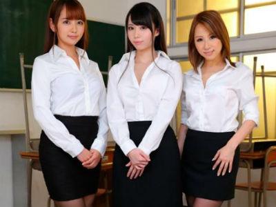 【VR】陰キャなダメ男子生徒を優しくエッチに誘う3人の女教師 北川エリカ 川菜美鈴 美咲かんな