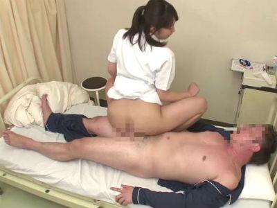 入院中に溜まりまくってしまった性欲を叔母にお願いしたら予期せぬ騎乗位SEX 今井ゆあ