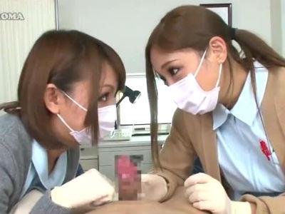 「女の子の身体に慣れておかないと」包茎治療が終わってからエッチな処置をしてくれるギャルナース HIKARI 武井麻希