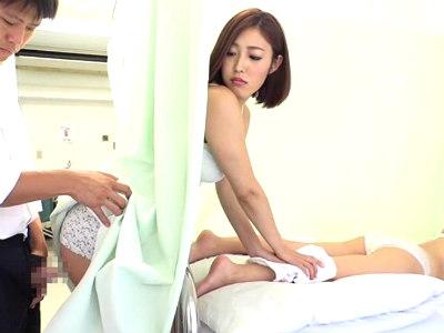 病院にお見舞いに行くとナースや他のお見舞い客がやたらセクシーなお姉さんだらけだった 花咲いあん 水野朝陽