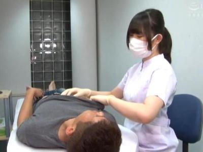 歯科助手お姉さんからデンタルケアの後は乳首とチンポをいじられる 美甘りか