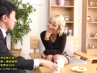 夫の部下で欲求不満を解消するビッチなパイパンギャル妻 AIKA