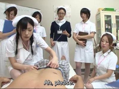 近未来の日本では医療の現場でセックスにオープンな研修が行われる事になった 阿部乃みく 葉月可恋