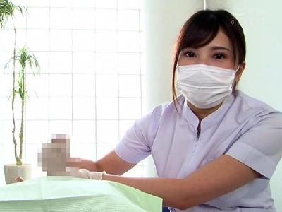 痴女歯科衛生士のゴム手袋手コキ マゾ射精CLEANING! 3