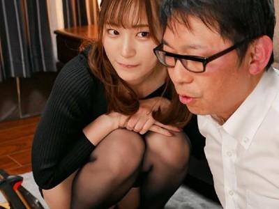 在宅勤務中の突然のお宅訪問! リモート中、美谷朱里の痴女テクに我慢できなかったら公開生中出しSEX!!我慢できたら二人きりラブラブ中出しだよ